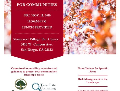 Landscape Seminar For Property Managers and HOA Board Members